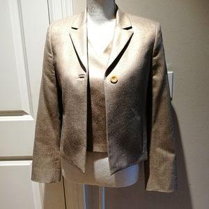 Versace Gold Vest and Jacket Set #051 150